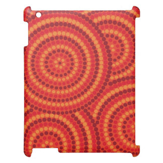 Aboriginal dot painting case for the iPad 2 3 4