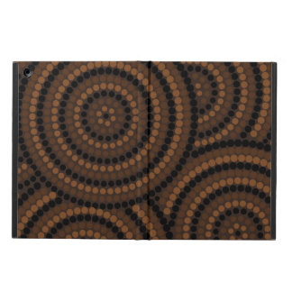 Aboriginal dot painting cover for iPad air
