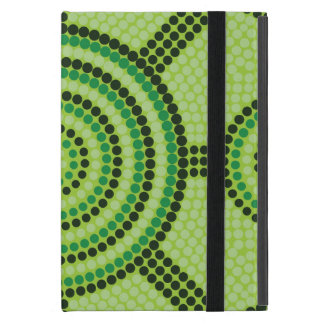 Aboriginal dot painting cover for iPad mini
