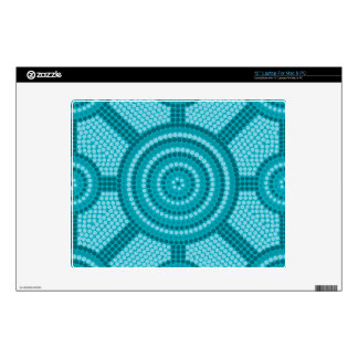 Aboriginal dot painting decals for laptops