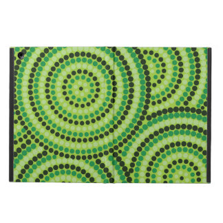 Aboriginal dot painting iPad air cover