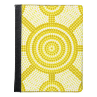Aboriginal dot painting iPad case