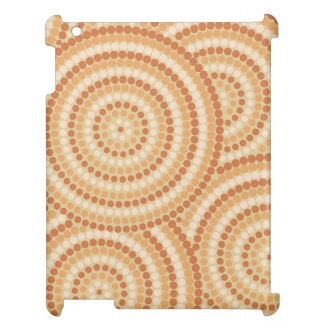 Aboriginal dot painting iPad cover