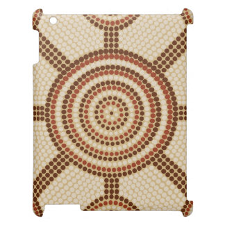 Aboriginal dot painting iPad covers