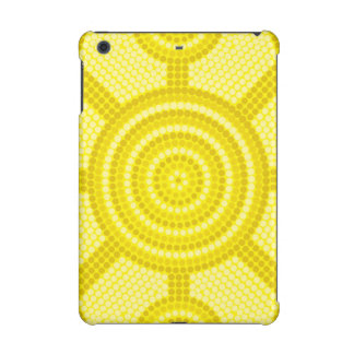 Aboriginal dot painting iPad mini cases
