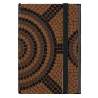 Aboriginal dot painting iPad mini cover