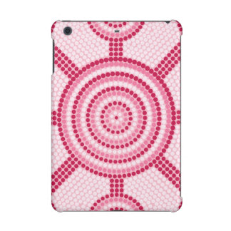 Aboriginal dot painting iPad mini retina case