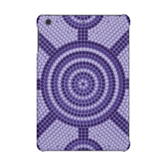 Aboriginal dot painting iPad mini retina covers