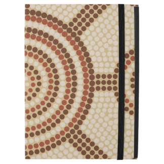 Aboriginal dot painting iPad pro case