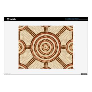 Aboriginal dot painting laptop decal