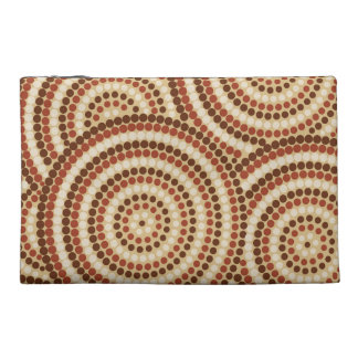 Aboriginal Dot Painting Travel Accessories Bag