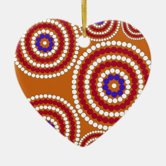 Aboriginal edition ceramic ornament
