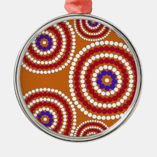 Aboriginal edition metal ornament