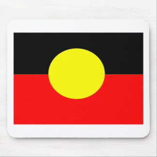aboriginal-Flag Mouse Pad
