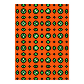 aboriginal folk pattern card