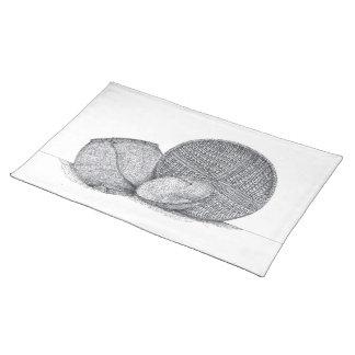 Aboriginal hampers/ cloth placemat