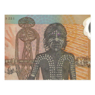 aboriginal idea too postcard