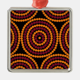 Aboriginal Life cycle Metal Ornament