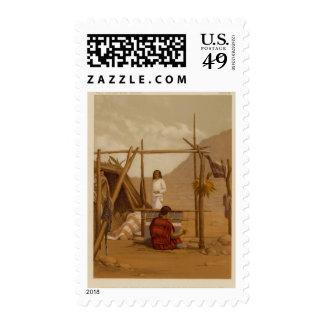 Aboriginal life, Navajo Country Stamp