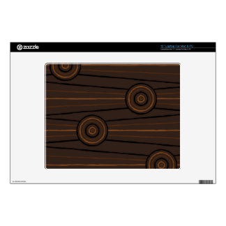 """Aboriginal line and circle painting decals for 12"""" laptops"""