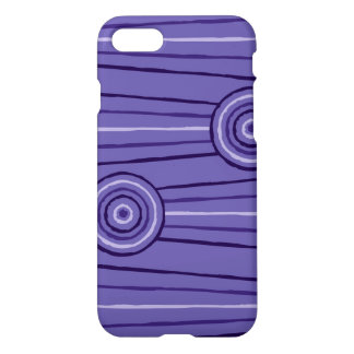 Aboriginal line and circle painting iPhone 8/7 case