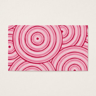 Aboriginal line painting business card