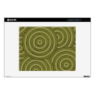 """Aboriginal line painting decals for 12"""" laptops"""