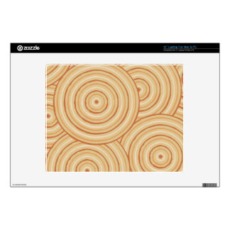 Aboriginal line painting decals for laptops