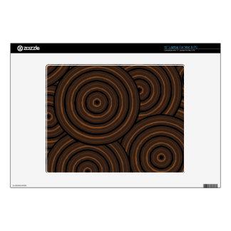 Aboriginal line painting laptop decal