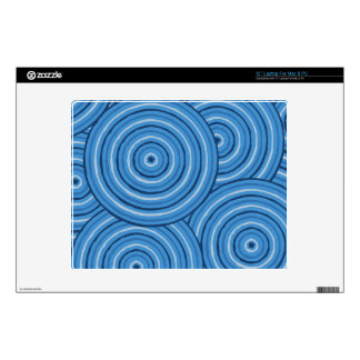 Aboriginal line painting skins for laptops