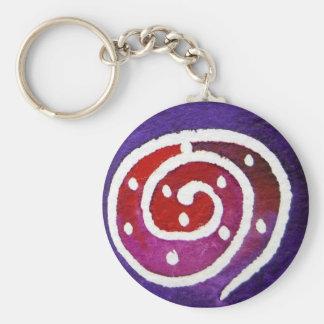 Aboriginal Snail II Key Chains