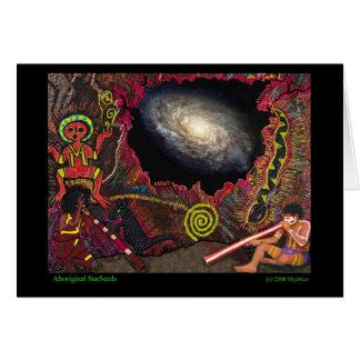 Aboriginal StarSeeds Greeting Card
