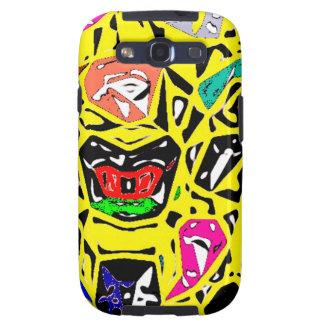 Aboriginal Surreal Yellow Samsung Galaxy SIII Covers