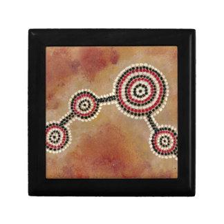 Aboriginal Symbol Gift Box