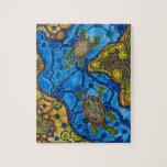 Aboriginal Turtles Painting Jigsaw Puzzles