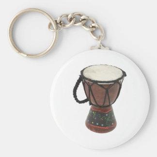 AboriginalDrum083109 Basic Round Button Keychain