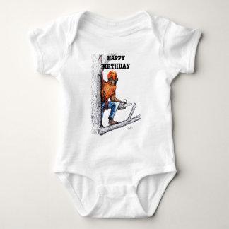 Aborist Tree surgeon Birthday present gift. Baby Bodysuit