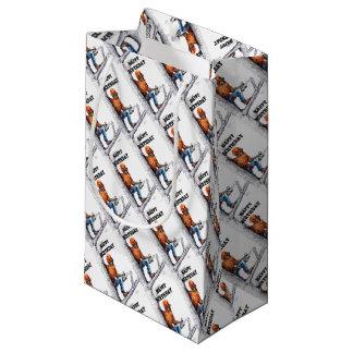 Aborist Tree surgeon Birthday present gift. Small Gift Bag