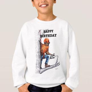 Aborist Tree surgeon Birthday present gift. Sweatshirt