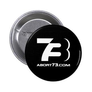 Abort73.com / 73-Logo Pin