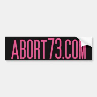 Abort73.com Bumper Stickers