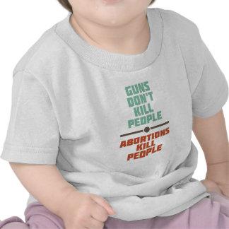 Abortion Kills People Tshirts