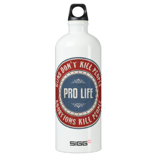 Abortions Kill People Water Bottle