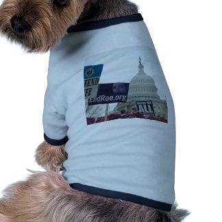 Aborto del final camisa de perrito