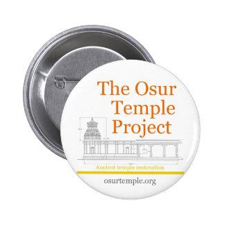 Abotone para promover el proyecto del templo de Os Pins