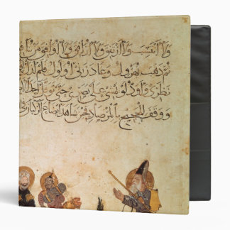 Abou Zayd meets some merchants 3 Ring Binder