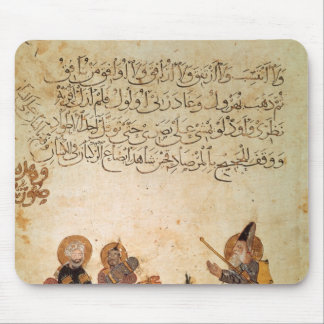 Abou Zayd meets some merchants Mouse Pad