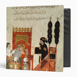 Abou Zayd preaching in the Mosque 3 Ring Binder