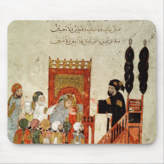 Abou Zayd preaching in the Mosque Mouse Pad