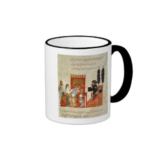 Abou Zayd preaching in the Mosque Ringer Mug